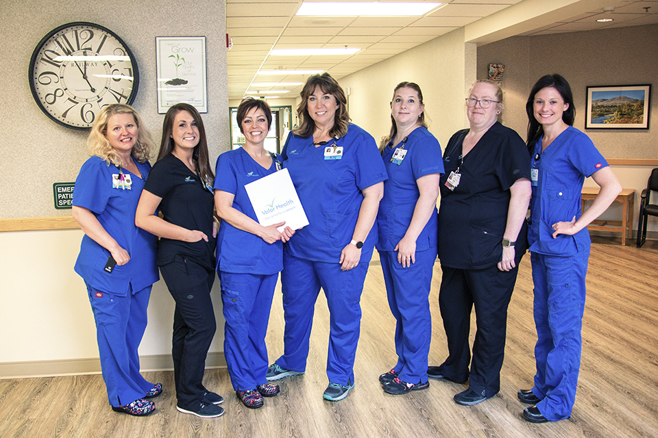 Transitional Care Section Staff